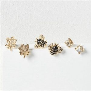 NWT 3-Pack Stud Earrings